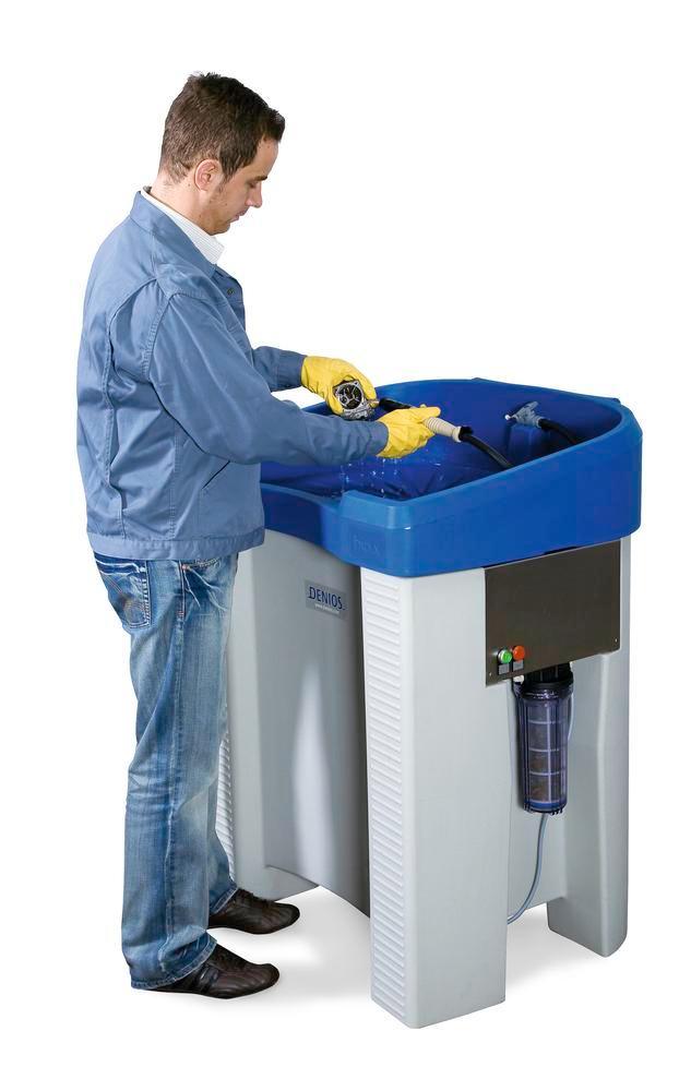 Stół Myjący S200 Myciebez wykorzystywania rozpuszczalników
