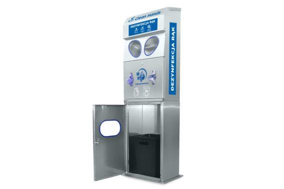 Stacja automatyczna do dezynfekcji rąk Clean Hands INOX